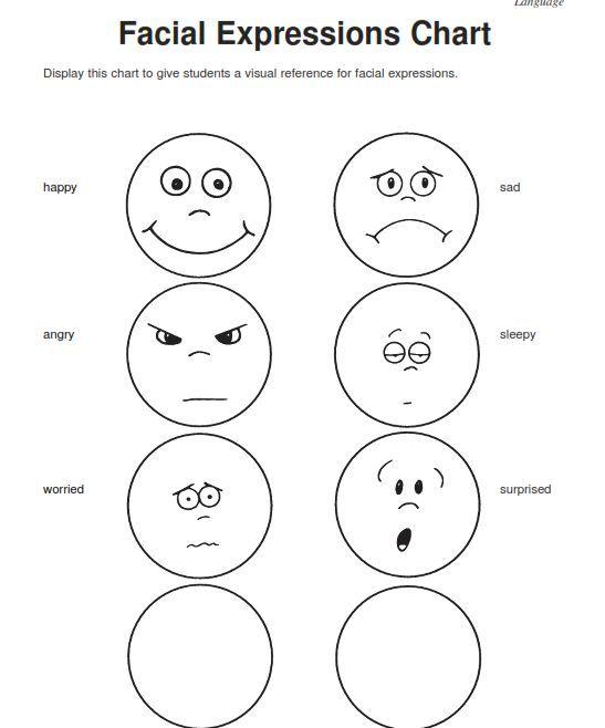 Emotions Worksheets For Kindergarten Worksheets For All Download