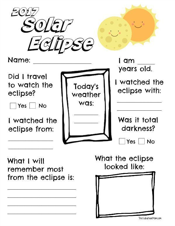 Commemorate The Solar Eclipse With A Free Printable 2017 Solar