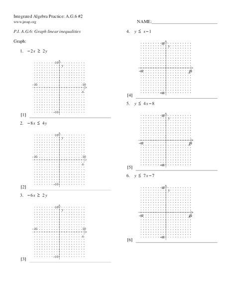 Lesson Plan Systems Of Inequalities Worksheet Stunning Preschool