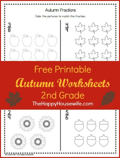 Autumn Worksheets  Free Printables