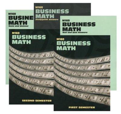 Business Math Worksheets High School Landmark S Freedom Baptist