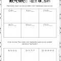 Repeated Subtraction Worksheets 3rd Grade