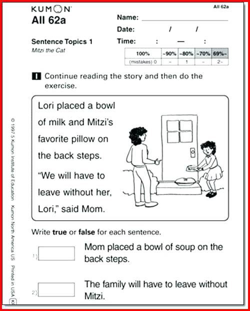 Kumon English Worksheets Free Download – Tagn