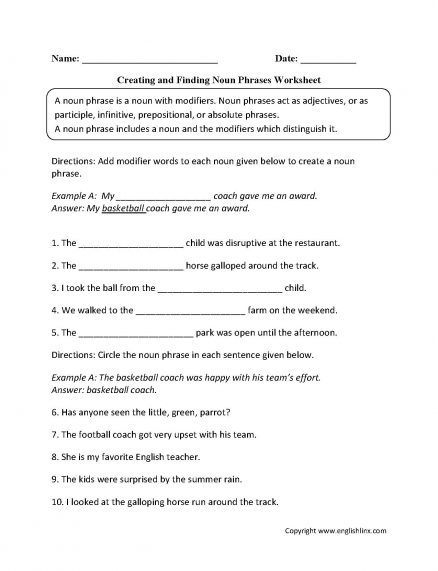Collective Nouns Worksheet And Exercises On For Grade 5 With