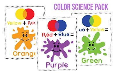 Color Preschool Printables