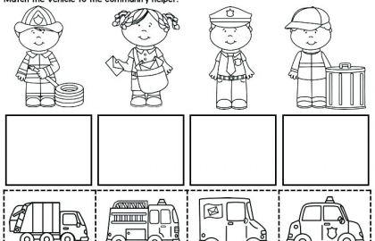 Community Helpers Worksheets 18 Unique Preschool Number Worksheets