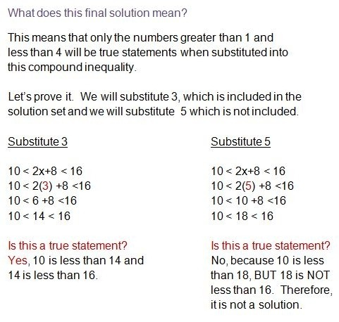 Compound Inequalities Word Problems Worksheet