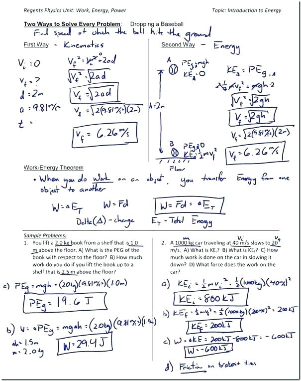 Conversion Of Units In Physics Worksheets Converting Metric Units