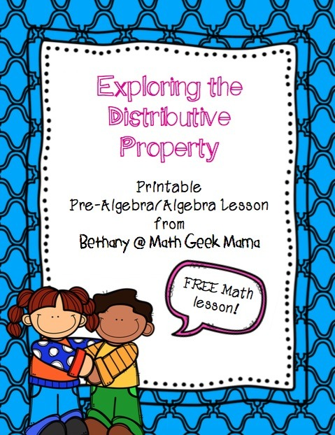 Understanding The Distributive Property {free Lesson!}