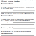 Figures Of Speech Worksheets Grade 5