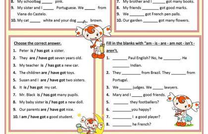 Esl Beginner Worksheet Beginning English Worksheets For Spanish