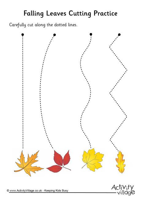 Falling Leaves Cutting Practice …