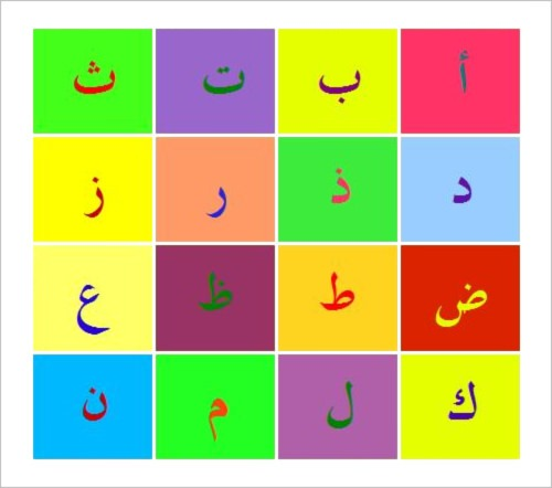 23+ Arabic Alphabet Letters To Download