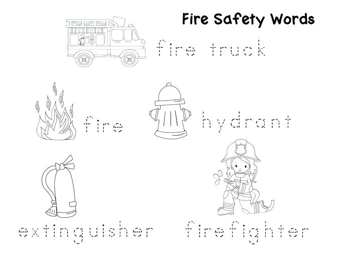 Free Printable Fire Safety Worksheets For Second Grade