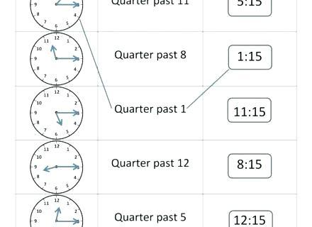 Grade 1 Time Worksheets Telling Time Worksheets Grade 2 1 Free