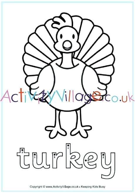 I Am Thankful For Worksheets Kindergarten Turkey Finger Tracing