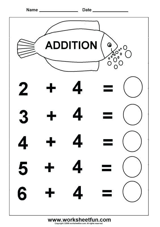 Kindergarten 2 English Worksheets
