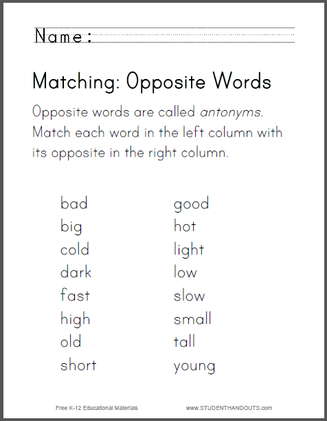 79 Free Download Antonyms Worksheets For Grade 5 Pdf, Pdf 5 For