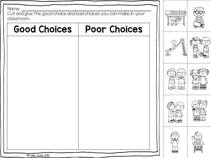 Printable Classroom Rules Worksheet Template Free Worksheets