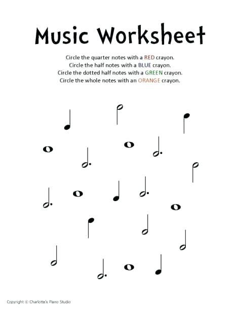 Kindergarten Music Worksheets Free Syllable Worksheets For