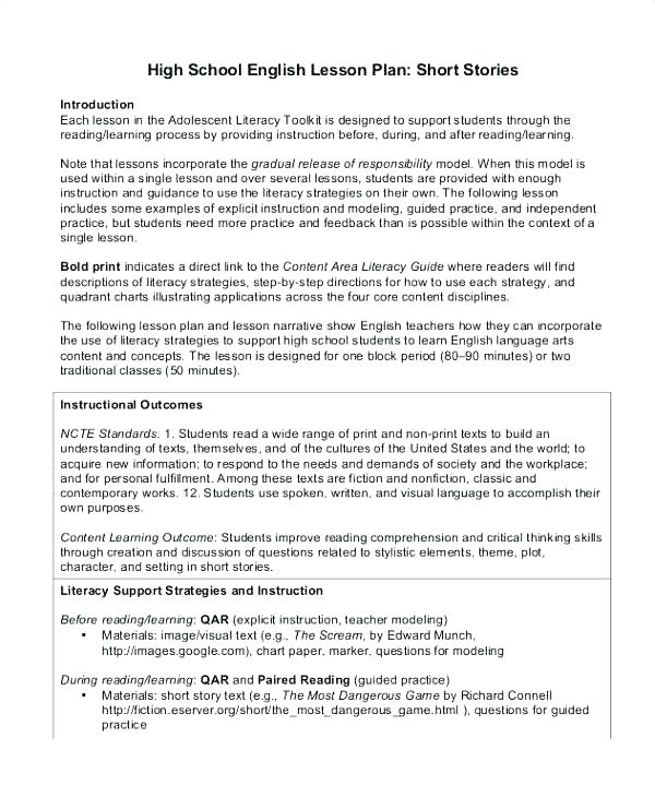 Middle School Language Arts Worksheets Writing For Highschool