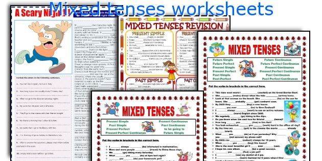 Mixed Tenses Worksheets
