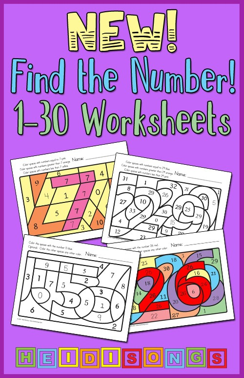 New! Find The Number! 1