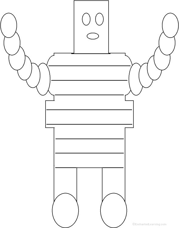 Robot  Shape Poem
