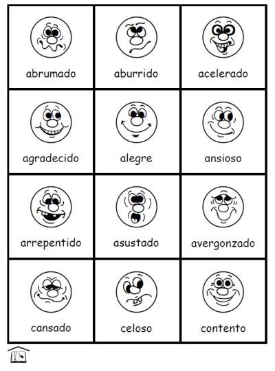 Sentimientos  Feelings In Spanish – Fran's Freebies