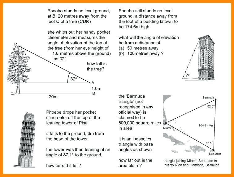 Similar Right Triangles Worksheet Answers