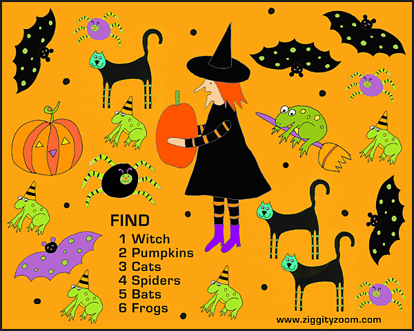 Halloween Printable – National Kindergarten Readiness