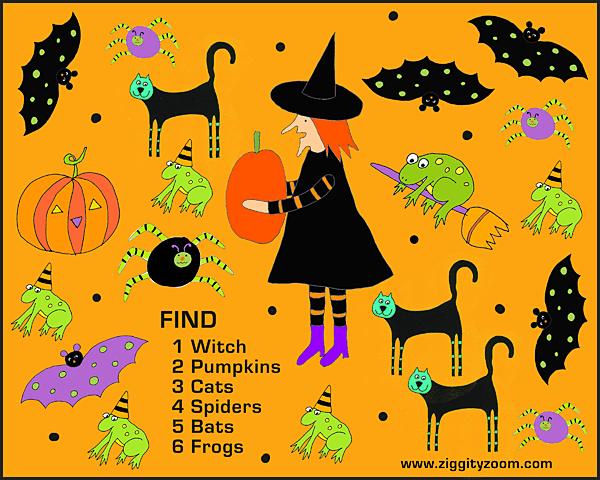 Halloween Printable – National Kindergarten Readiness
