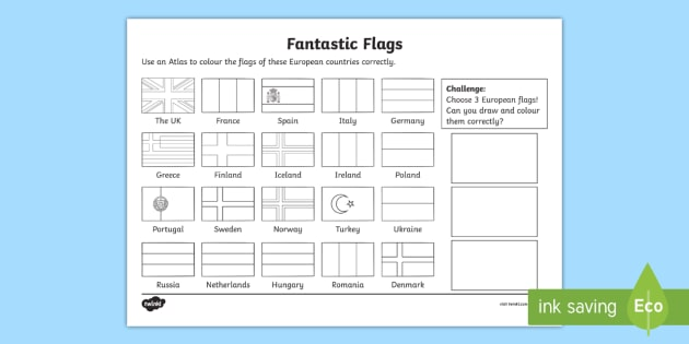 What A Wonderful World Worksheet   Worksheet Fantastic Flags