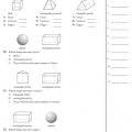 2d Shapes Worksheets Grade 3