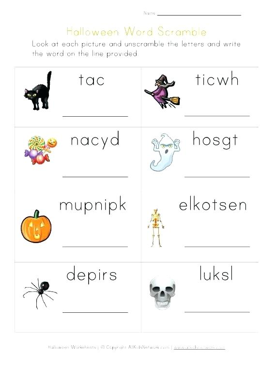 Worksheets Printable This Perfect For Fall Worksheet Halloween