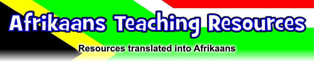 Free Teaching Resources In Afrikaans