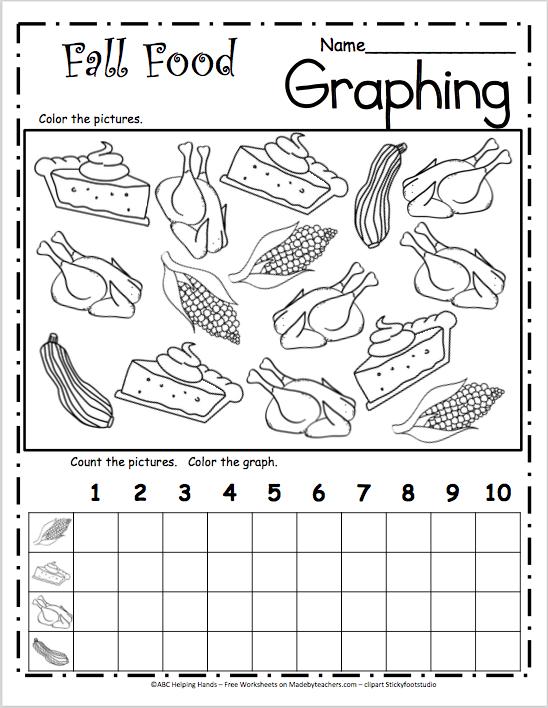 Fall Food Graph