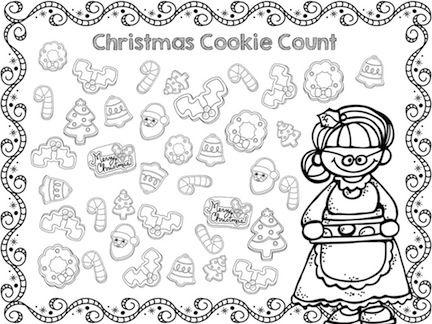Christmas Kindergarten Math Worksheets (common Core Aligned