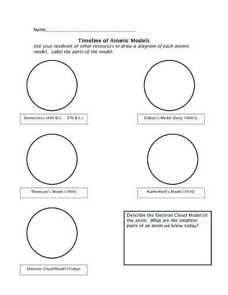 29 Casual Drawing Atoms Worksheet Answer Key