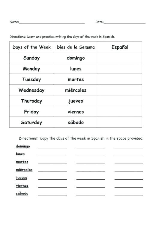 2nd Grade Spanish Worksheets And Match Game Reading Comprehension