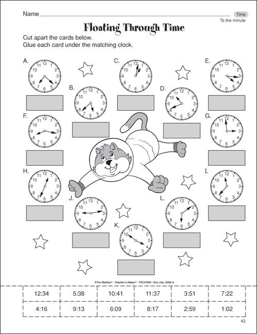 3rd Grade Clock Worksheets Free 3rd Grade Math Worksheets To â