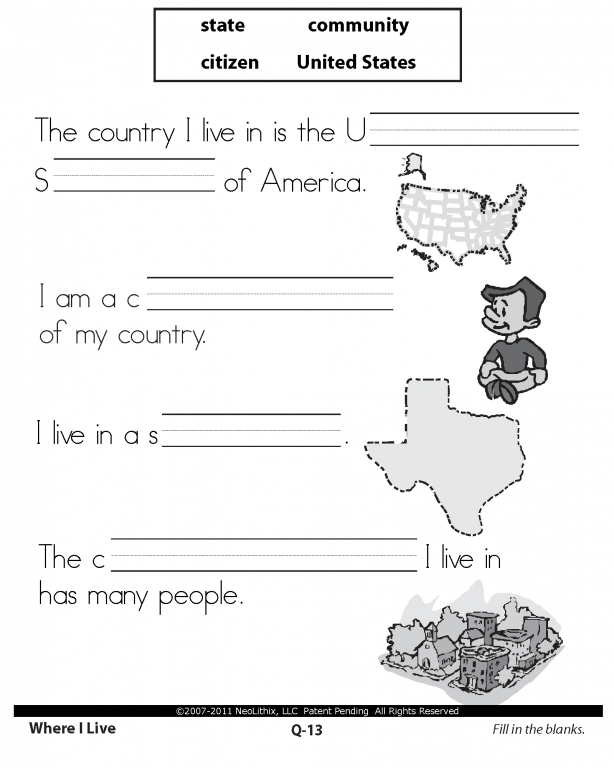 Social Studies Worksheets For 3rd Grade