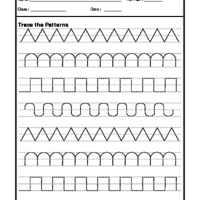 A2zworksheets  Worksheets Of Pattern