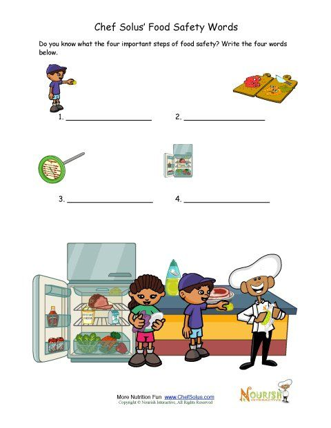 Food+safety+writing+activity+for+children ++great+as+a+worksheet+