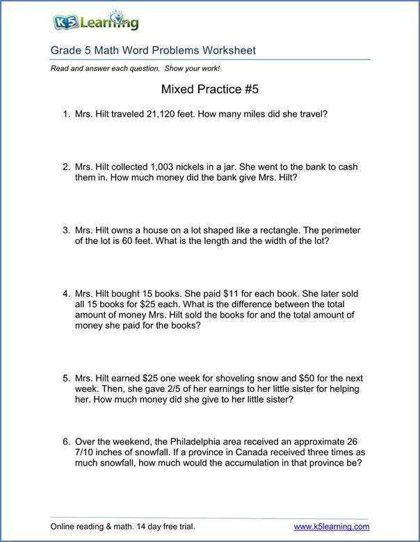 Math Worksheets Multiplication Word Problems – Good Worksheet