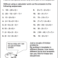 Algebra Worksheets Year 6