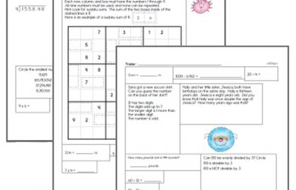 6th Grade Math Practice Worksheets Free 8th Grade Math Worksheets