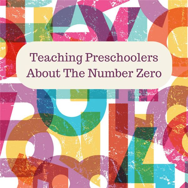 Teaching Kids About The Number Zero  Preschool Activities & Lesson