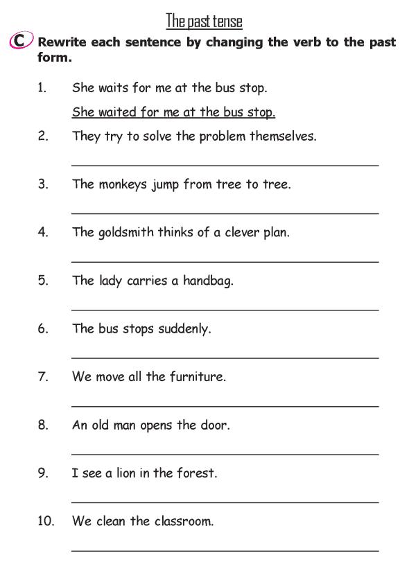 Grade 2 Grammar Lesson 14 Verbs