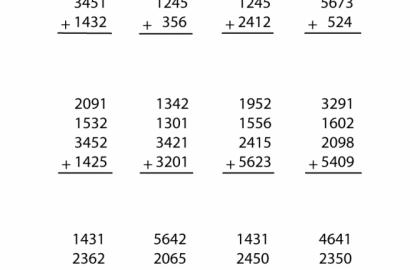 8th Grade Math Worksheet Printable Grade Math Worksheets